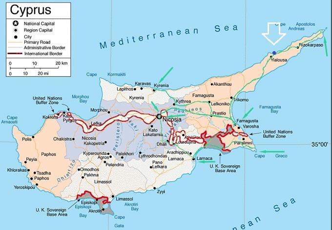 Karta Famagusta Cypern.Langre Osterut Kommer Vi Inte Karpaz Gate Marina Cypern Moonskater
